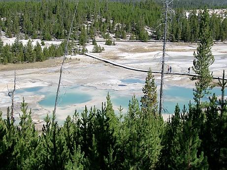 Yellowstone NP Pools