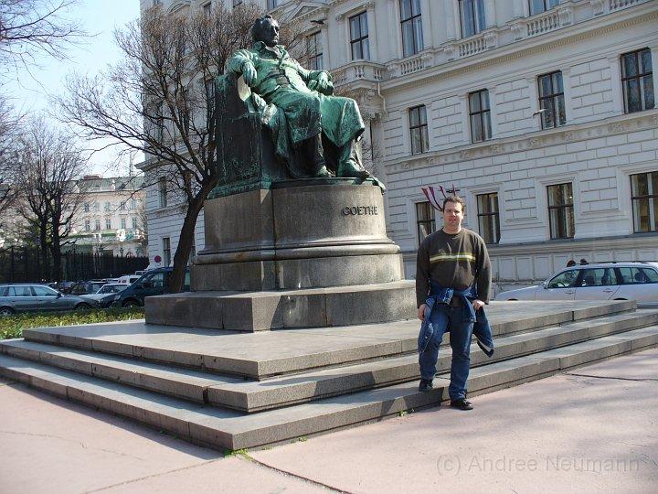 Goethe Denkmal in Wien