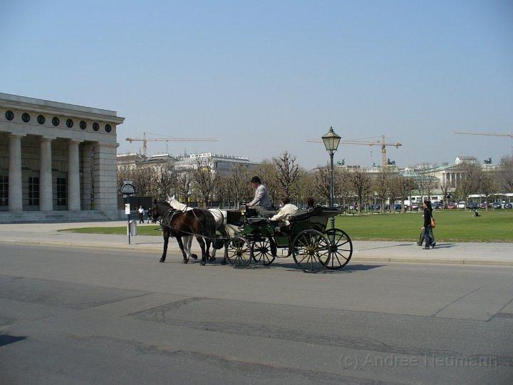 Kutsche an der Hofburg