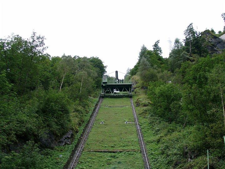 Aufzug Kaprun Stausee