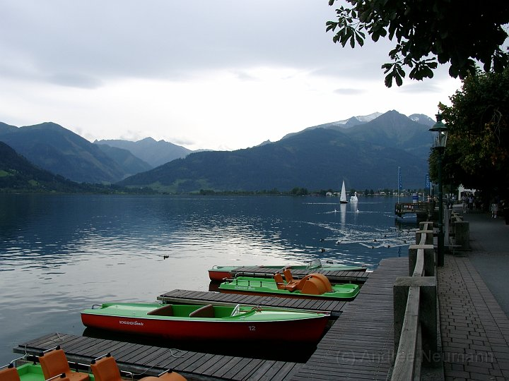 Der See in Zell am See