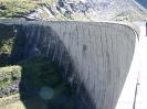 Kaprun Stausee Staumauer