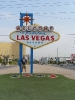 Las Vegas Welcome Schild