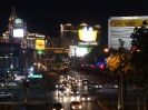 Der Strip in Las Vegas bei Nacht