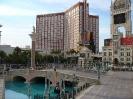 Venetian Las Vegas mit Blick zum Mirage