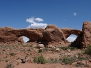 Double Arch im Arches