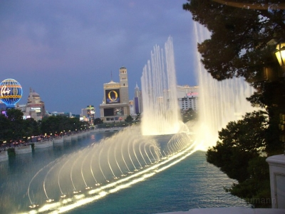 Bellagio Las Vegas mit Fountains