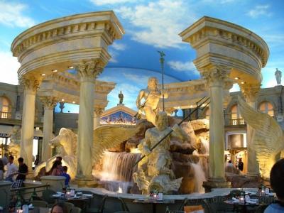 Forum Shops im Ceasars Palace Tempel