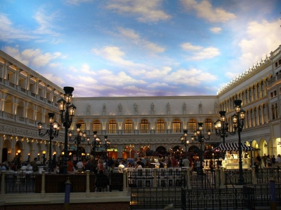 Markusplatz im Venetian Las Vegas