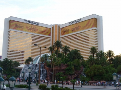 Das Mirage in Las Vegas
