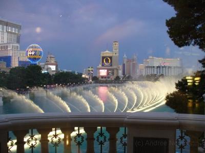 Bellagio Las Vegas mit Fountains