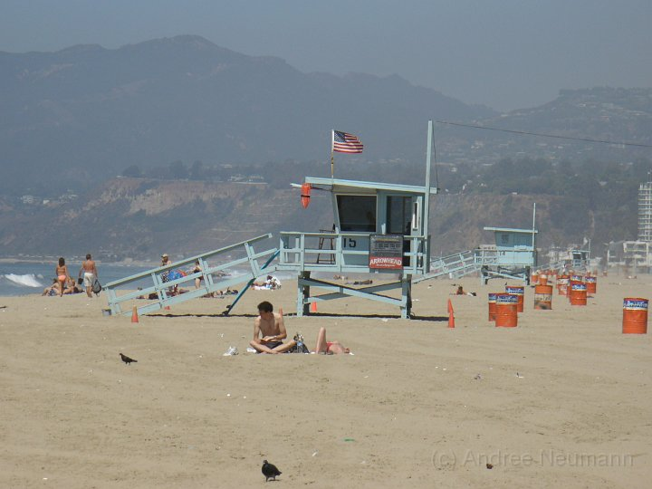 Baywatch in Santa Monica