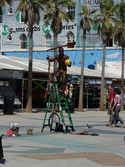 Künstler in Vennice Beach