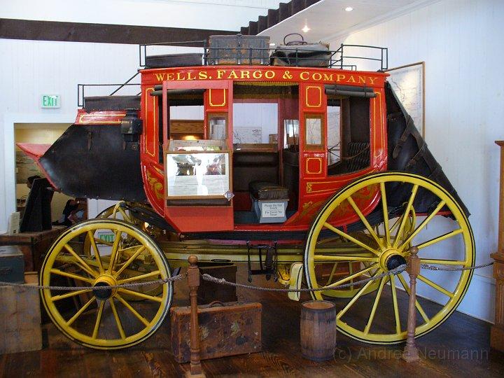 Wells Fargo Kutsche in San Diego