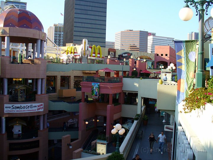 Horton Plaza in San Diego