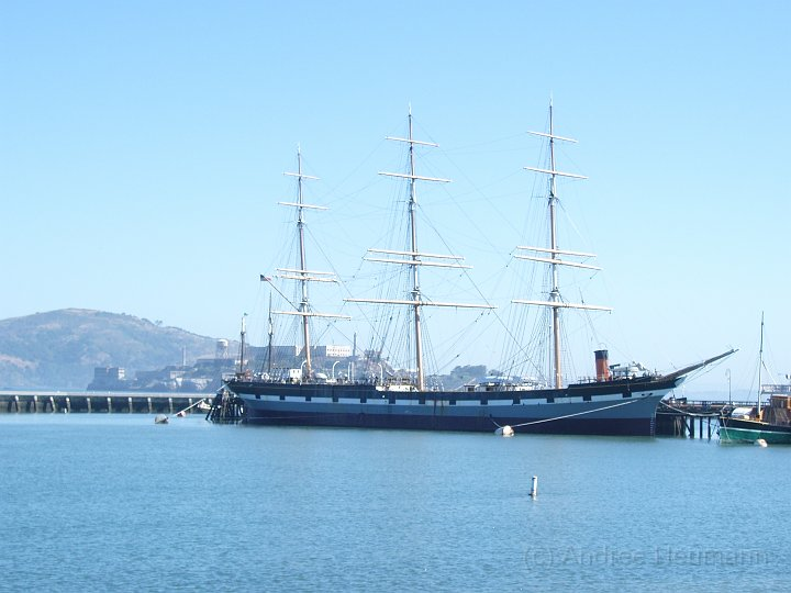 Segelboot in San Francisco