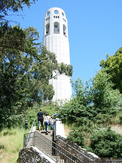 Coilt Tower San Francisco