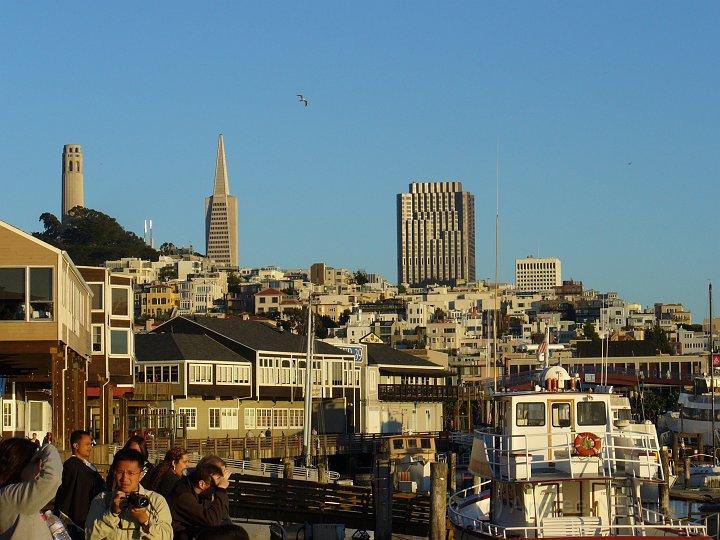 Blick von der Wharf aus