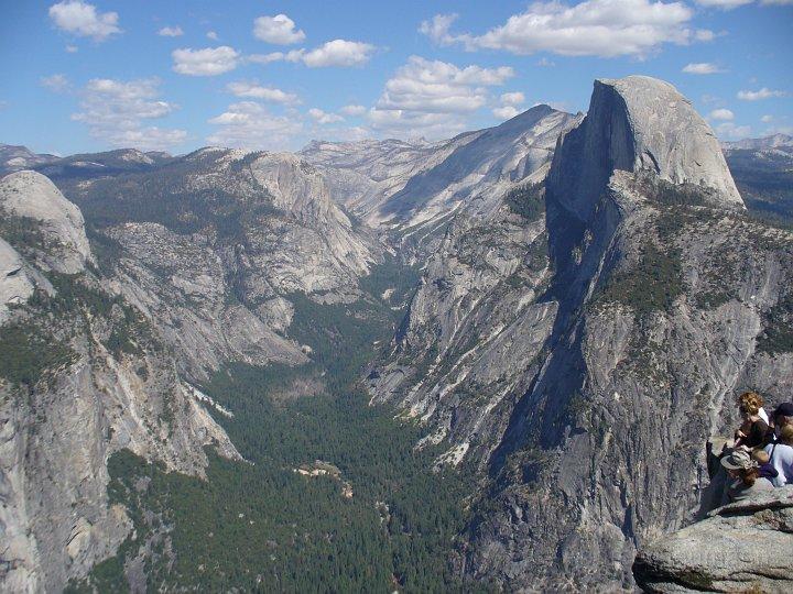 Glacier Point im Yosemite NP
